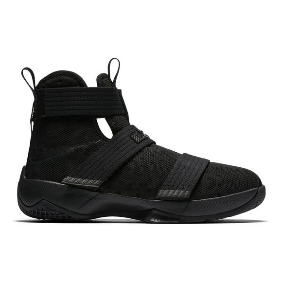 wholesale dealer 2ec5e 305f2 Nike LeBron Soldier 10 Grade School Boys  Basketball Shoe - Main Container  Image 1