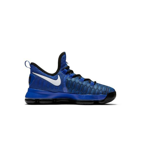 best website 5c3c0 1a7a3 Nike Zoom KD 9 Grade School Boys' Basketball Shoe - Hibbett US