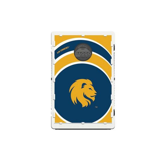 Magnificent Victory Tailgate Texas Am Commerce Lions Baggo Bean Bag Toss Cornhole Game Vortex Design Ibusinesslaw Wood Chair Design Ideas Ibusinesslaworg