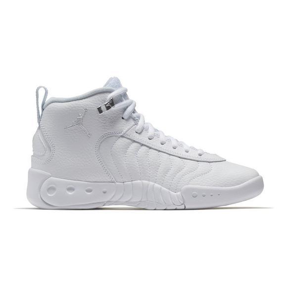 3b028ba340be9f discount code for jordan jumpman pro white silver grade school boys  basketball shoe main 95b1b 81b4d