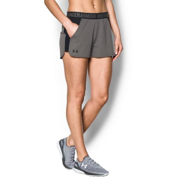 6b0c3d056 Display product reviews for Under Armour Women's Play Up Shorts-Grey/Black