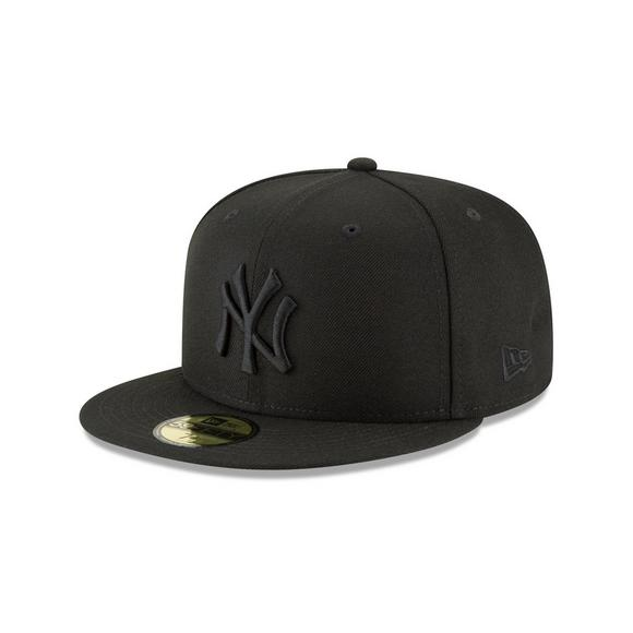6d6d602f7a1a9 New Era New York Yankees Men s Black Tonal Fitted Hat - Main Container  Image 2