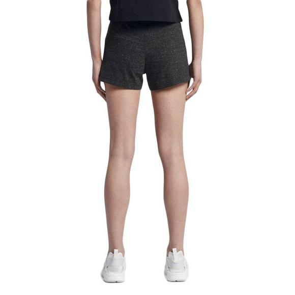 Nike Women s Gym Vintage Shorts - Black - Main Container Image 2 adcca89524