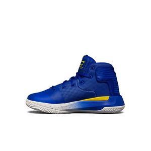ecc8dbb27451b ... discount under armour curry sc 3zero round 2 white blue yellow preschool  boys basketball shoe 95684