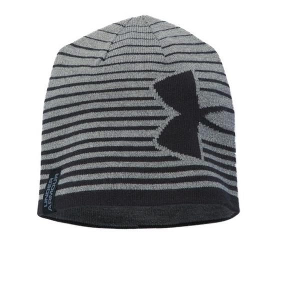 b316f211399 Under Armour Billboard 2.0 Beanie - Grey Black - Main Container Image 1