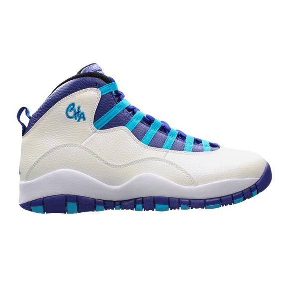 4b43710b38d Air Jordan Retro 10 Charlotte Hornets Preschool Lifestyle Shoe - Main  Container Image 1
