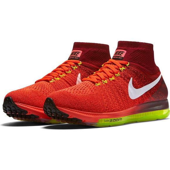 new high separation shoes new high quality Nike Zoom All Out Flyknit Women's Running Shoes - Hibbett ...