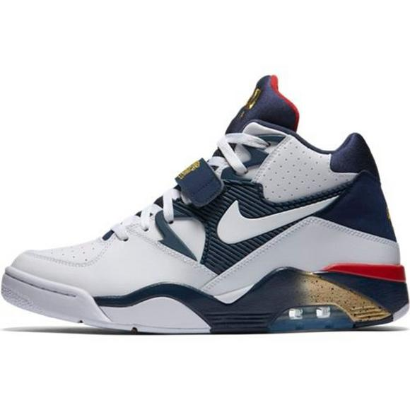 fd8752d7b882 Nike Air Force 180 Men s Basketball Shoe - Main Container Image 2