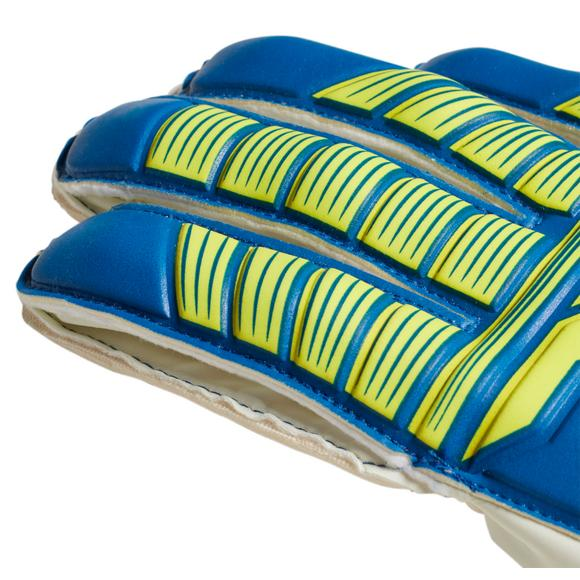 76b4e42d81d5 adidas Predator Top Training Fingersave Gloves-Blue/Yellow - Main Container  Image 2