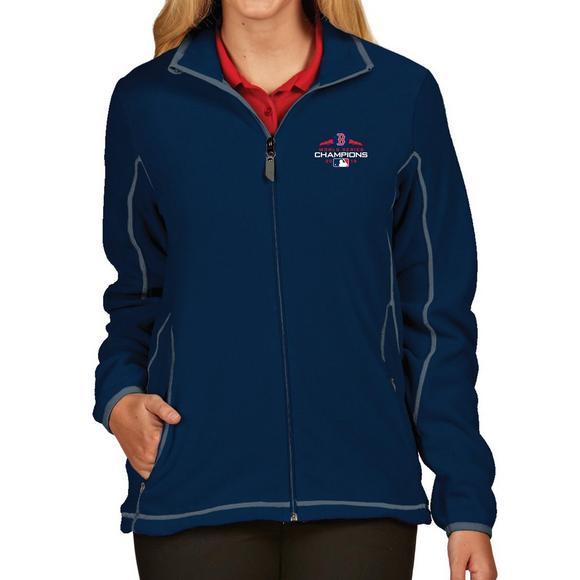 865a160f2 Antigua Women's Boston Red Sox 2018 MLB World Series Champions Full-Zip Ice  Jacket -