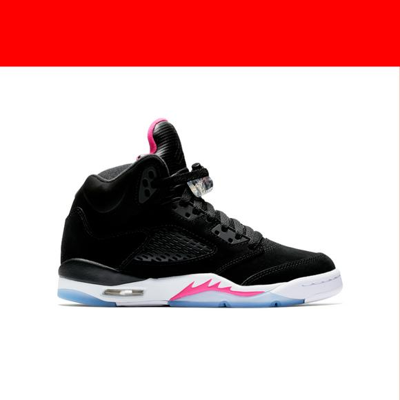 jordan retro 5 girls grade school