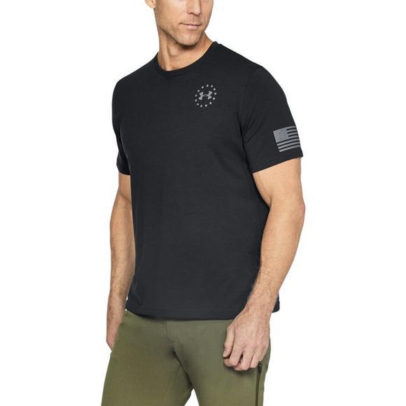 ae5b59b1c Under Armour Men's Freedom Flag Short Sleeve Shirt - Hibbett US