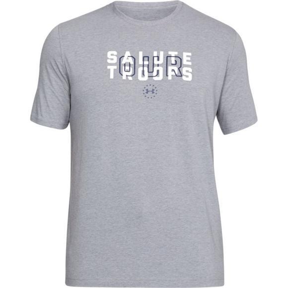 368f6b63bd Under Armour Men's Support The Troops T-Shirt - Hibbett US