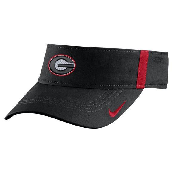 Nike Georgia Bulldogs Aerobill Sideline Visor - Main Container Image 1 0bb48458fa9