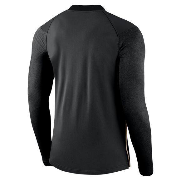 low priced 1b21d e585c Nike Men s Purdue Boilermakers Coaches Half Zip Jacket - Main Container  Image 2