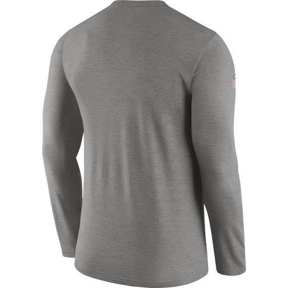 4763305a Nike Men's Chicago Bears Dri-Fit Touch Coaches Long Sleeve Shirt ...