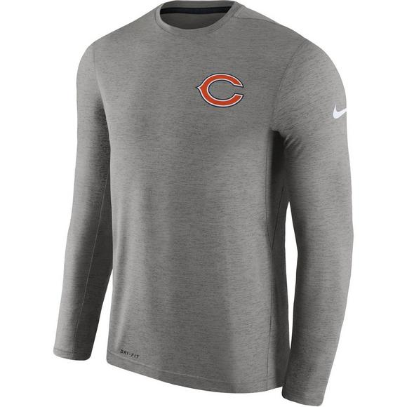 meet a9575 4d9d3 Nike Men's Chicago Bears Dri-Fit Touch Coaches Long Sleeve ...