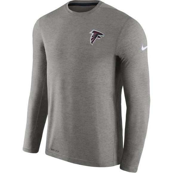 cheaper 7763e bf05a Nike Men's Atlanta Falcons Dri-Fit Touch Coaches Long Sleeve ...