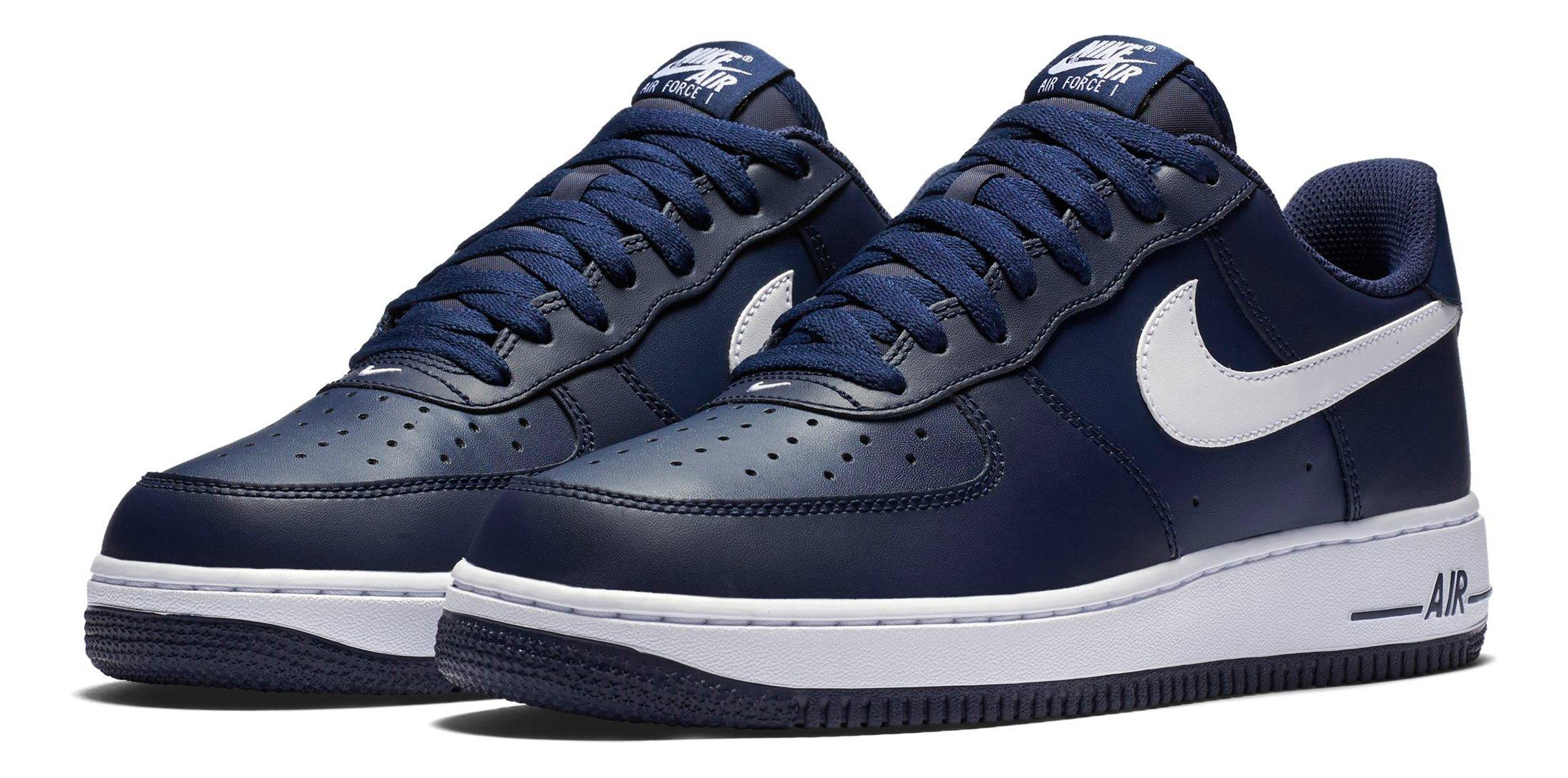 brand new 0451a bb185 Nike Air Force 1 Low Men u0027s Basketball Shoe - Main Container Image 2