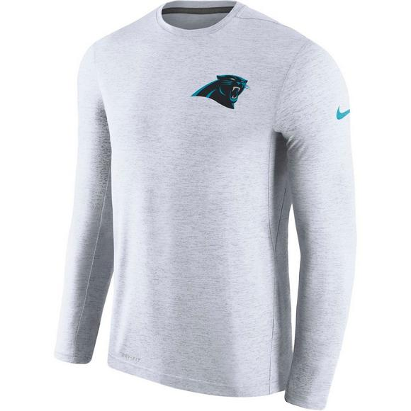 Nike Men s Carolina Panthers Coaches Dri-Fit Touch Long Sleeve T-Shirt -  Main f18c27f74