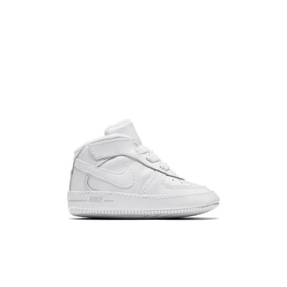 sneakers for cheap 07f87 86417 Nike Air Force 1 Low Crib Infant Kids Casual Shoe - Main Container Image 2