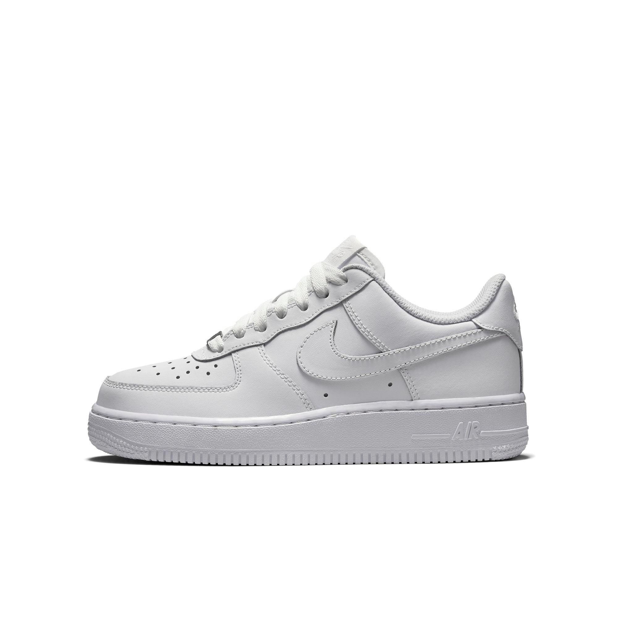 air force 1 low white grade school
