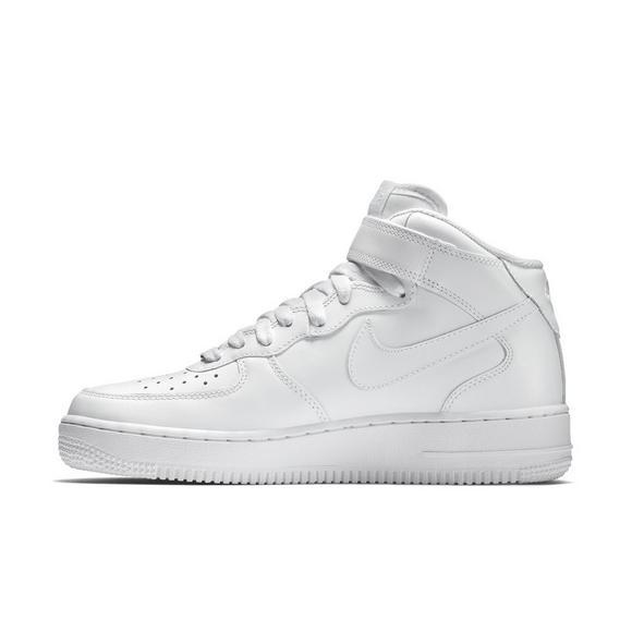 Nike Men's Air Force 1 Mid (White Hvit)  White)