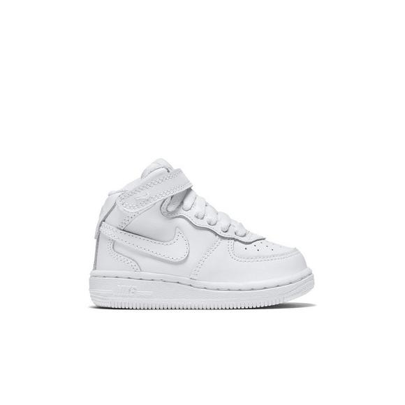 59df06454b Nike Air Force 1 Mid Toddler Kids' Basketball Shoes - Main Container Image 1