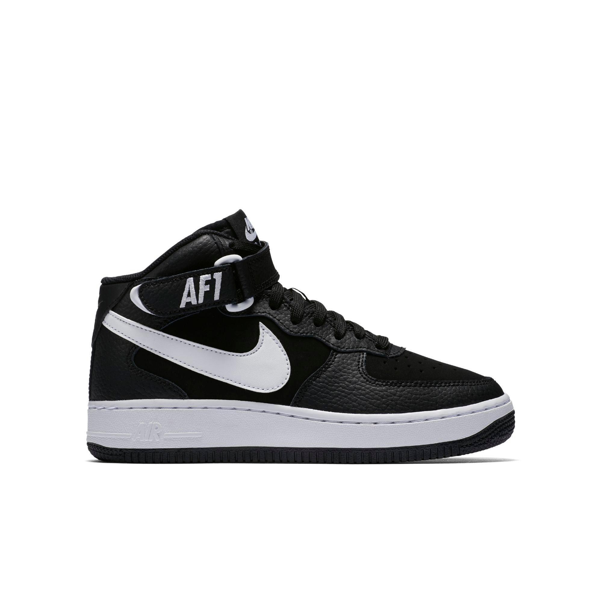 Nike Air Jordan 1 Formateurs Milieu Des Jeunes Blancs Blancs Académie