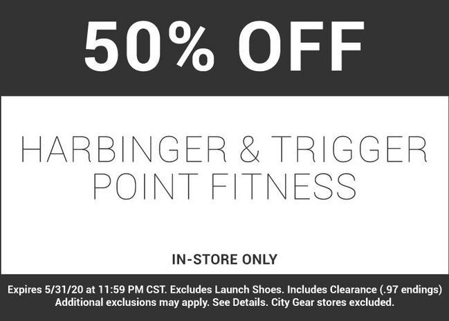Shop Harbinger & Trigger Point Fitness