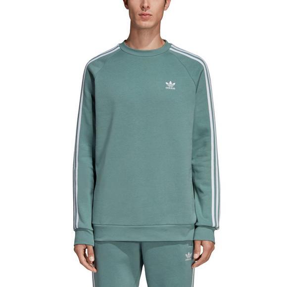 a9cd52191 adidas Men's Originals 3-Stripes Crewneck Sweatshirt - Main Container Image  1