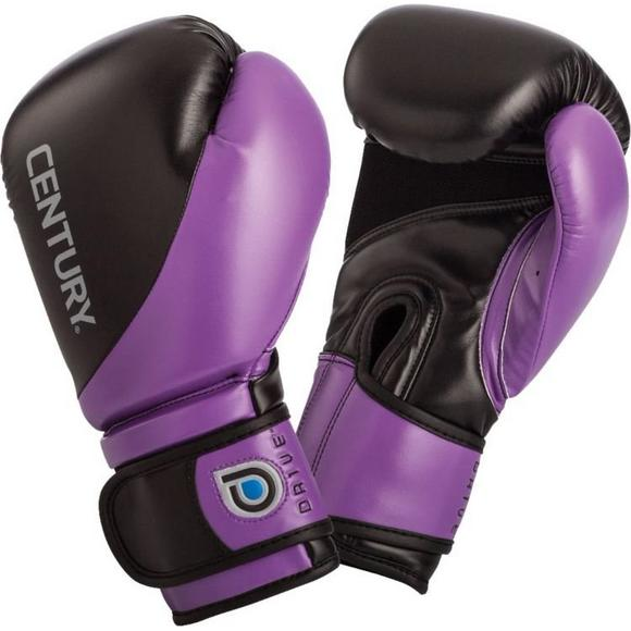 b807f1396d7 Century Women s Drive Boxing Gloves Black Purple - Main Container Image 1