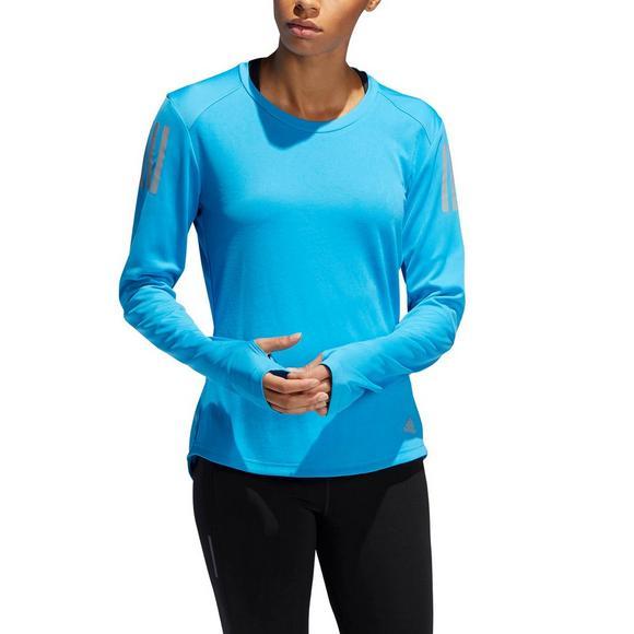 74cc6d5b63 adidas Women's Own The Run Long Sleeve Tee - Hibbett US