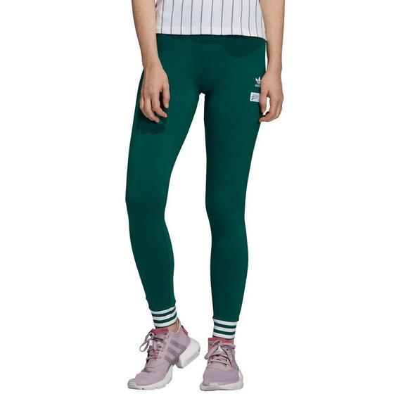 9ebf0a02d0 adidas Women's Green Tights - Hibbett US