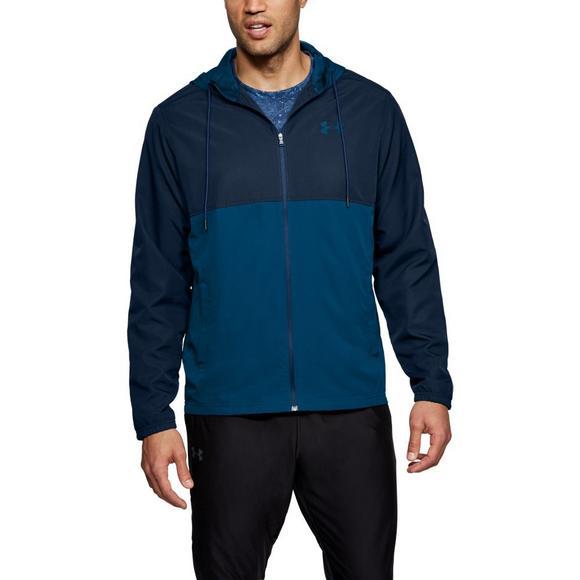 ae777c683 Under Armour Men's Sportstyle Woven Full Zip Jacket - Hibbett US