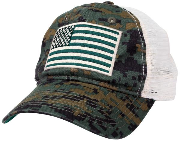 c536cb70ef4 Display product reviews for The Game American Flag Trucker Hat