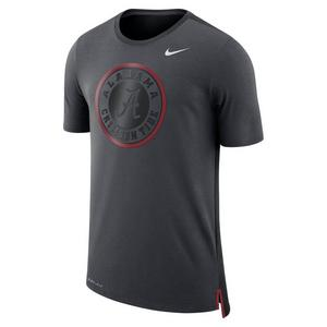 4f151a68104 Nike Men s Alabama Crimson Tide Travel Meshback Tee