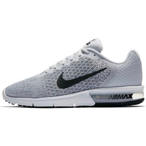 0d085001349 Max Men's Shoes Nike Sequent Air Hibbett Us Greyblack 2 Running fw5Zq