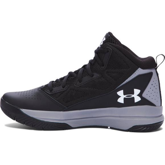 19fff84b1c2 Under Armour Jet Mid Grade School Boys  Basketball Shoe - Main Container  Image 2