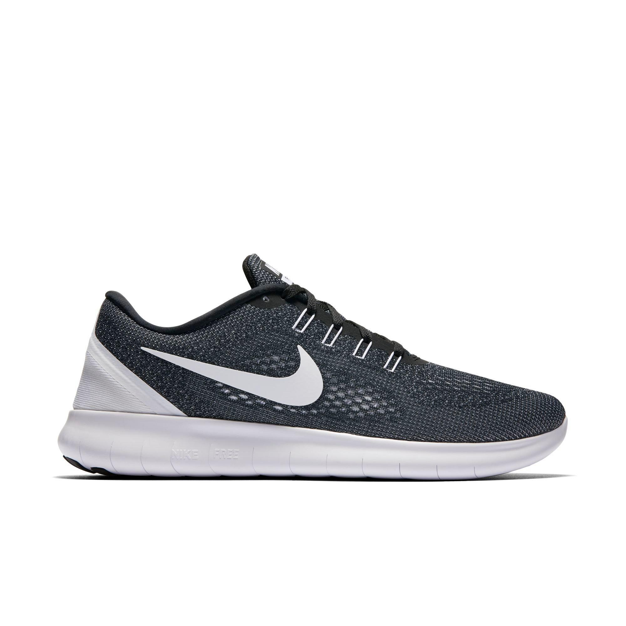nike shoes white and black high top. free shipping no minimum. 5 out of stars. read reviews. (1). nike rn flyknit men\u0027s running shoe shoes white and black high top