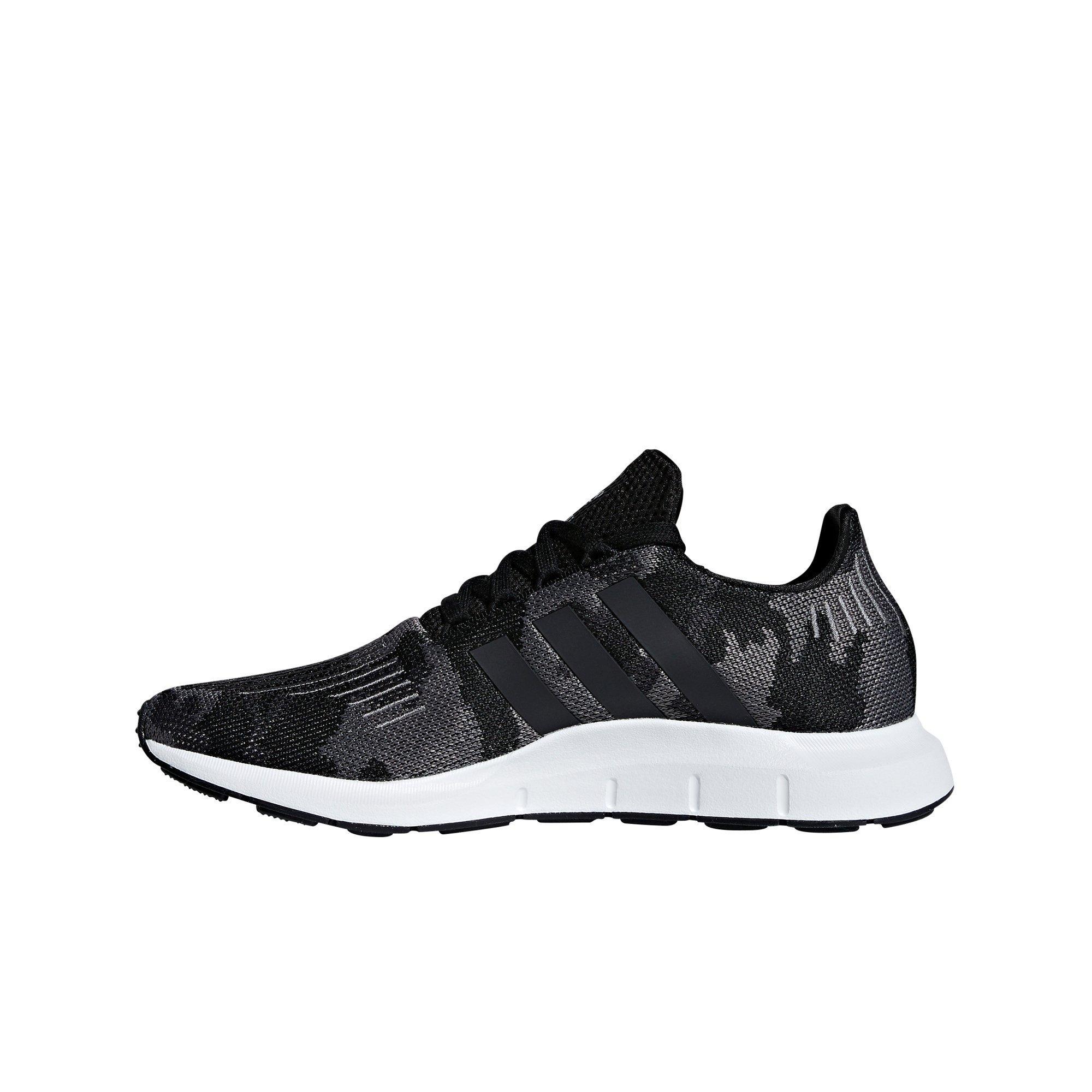 1a27471e1cc54 Top 10 Punto Medio Noticias | Adidas Swift Run Core Black And White