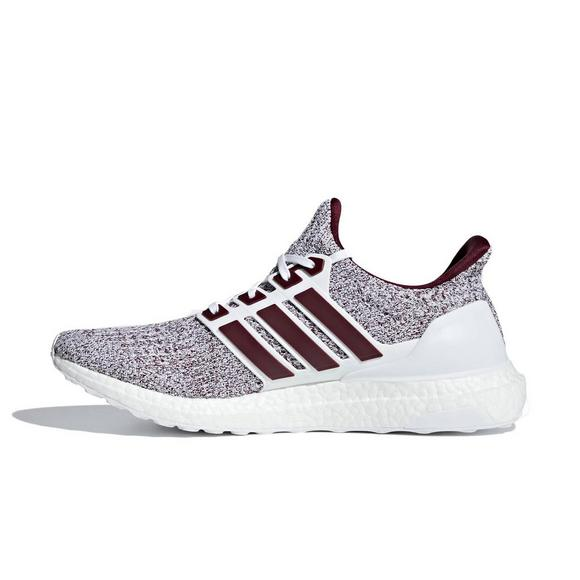 adidas ultra boost white maroon