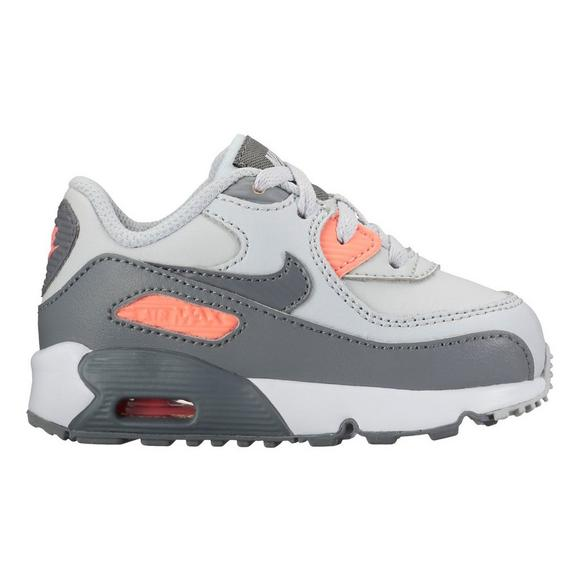 36c1d47767b7 Nike Air Max 90 Leather Toddler Girls  Casual Shoe - Main Container Image 1