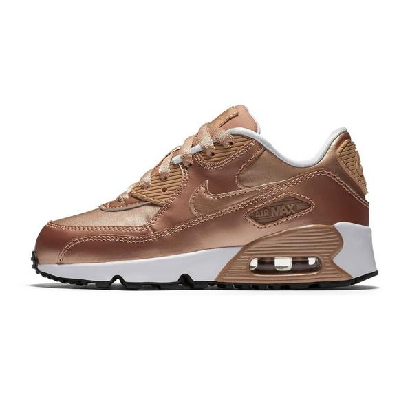 outlet store 32eed 1953a Nike Air Max 90 SE Leather Preschool Girls  Casual Shoe - Main Container  Image 2