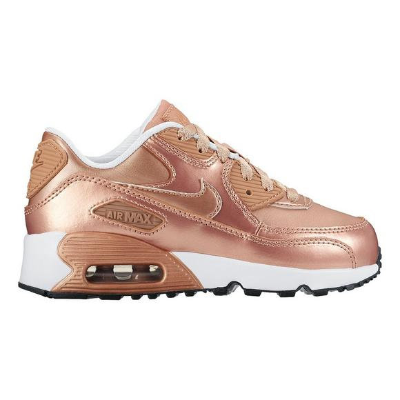 low priced 48ac2 73973 Nike Air Max 90 SE Leather Preschool Girls  Casual Shoe - Main Container  Image 1