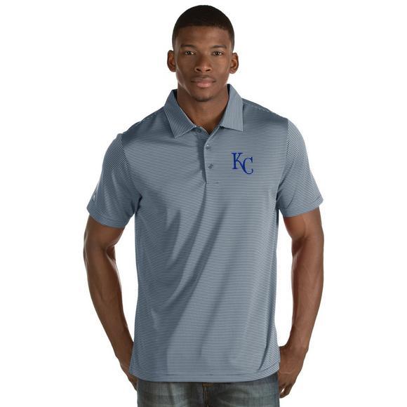 release date ca77f 2d909 Antigua Men's Kansas City Royals Quest Polo Shirt