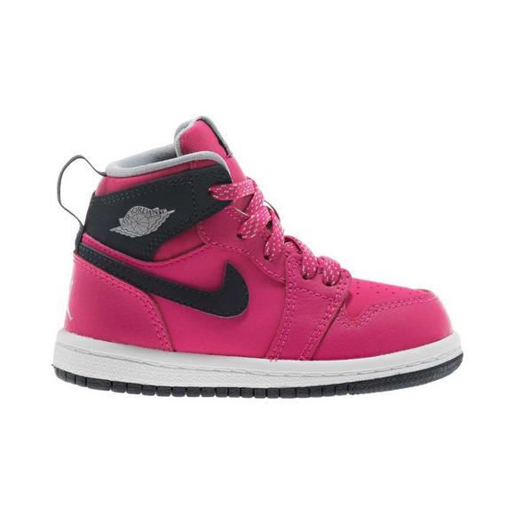 quality design 24320 48a65 Jordan 1 Retro High Toddler Girls' Shoe - Hibbett US