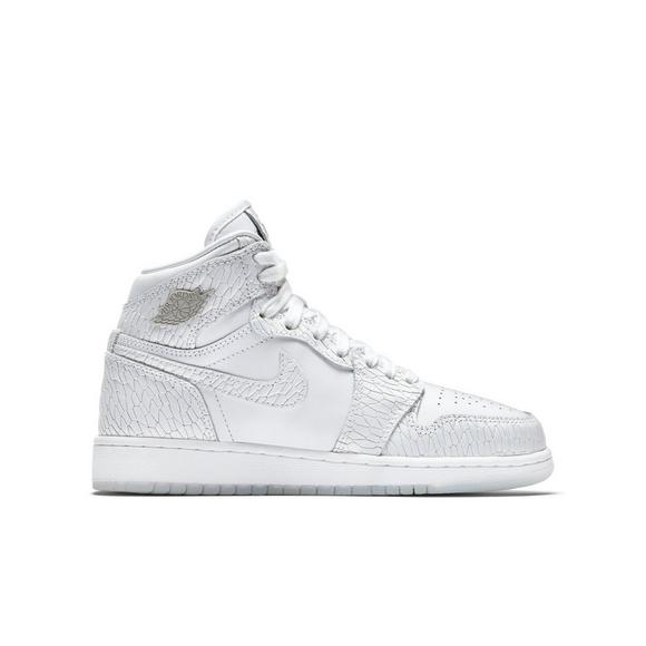 49f83eb94dce ... Jordan 1 High Grade School Girls Shoe - Main Container Image 1 Jordan  Brands ongoing Heiress ...