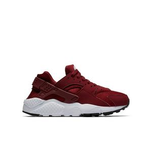 best service 594ab 1b216 sale nike huarache run scarlet grade school kids casual shoe 9100b b3b42