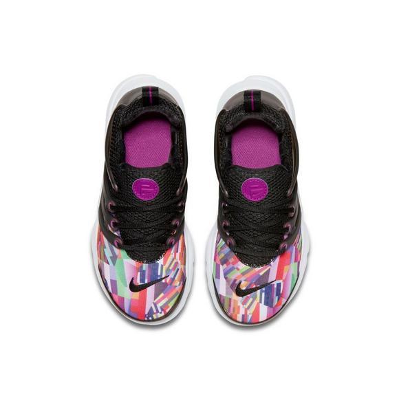 6f7f045285a9 Nike Presto Print Preschool Girls  Running Shoe - Main Container Image 3